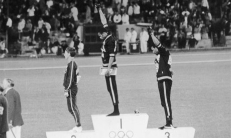 Photo: Oh, that salute! Should I remember it? (Copyright Inside the Games)