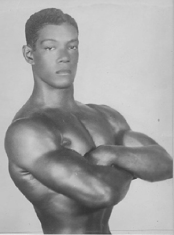 Photo: Trinidad and Tobago's Lennox Kilgour got bronze in the weightlifting middle heavyweight competition at the 1952 Olympic Games. (Copyright MEP Publishers)