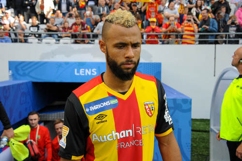 Photo: RC Lens midfielder John Bostock. (Copyright Butfootball)