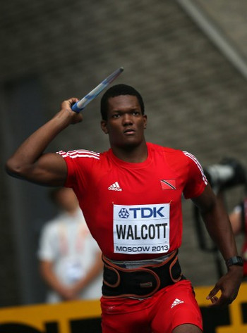 Photo: Trinidad and Tobago's Keshorn Walcott competes at the Moscow 2013 World Championships. (Copyright AFP 2016/Wired868)