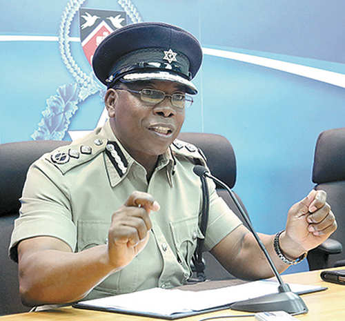 Photo: Acting Commissioner of Police Stephen Williams. (Copyright Trinidad Guardian)