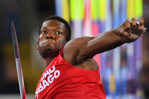 Photo: Trinidad and Tobago's Keshorn Walcott competes in the Men's Javelin Throw Final at the Rio 2016 Olympic Games on 20 August 2016. Walcott snared bronze with a throw of 85.38 metres. (Copyright Franck Fife/AFP 2016/Wired868)
