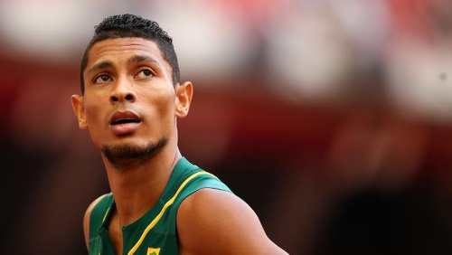 Photo: South Africa 200 metre and 400 metre sprint star Wayde Van Niekerk. (Copyright News.com.au)