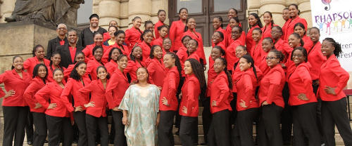 Photo: The Bishop's Anstey choir. (Copyright Bahs.edu.tt)