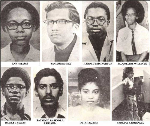 Photo: Remembering Guyana's victim aboard Cubana Flight 455, which was bombed by anti-Castro dissidents trained by the CIA. (Copyright Kaieteur Newsonline)
