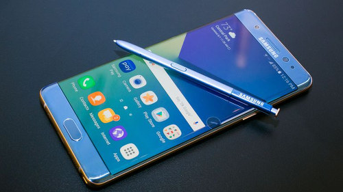 Photo: The new Samsung Galaxy Note 7