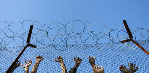 Photo: A photograph at a juvenile detention centre. (Copyright The Atlantic)