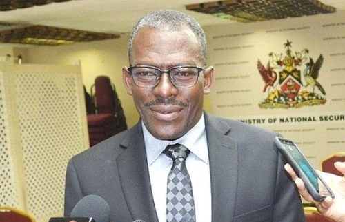 Photo: Minister of National Security Edmund Dillon. (Copyright Jamaica Observer)