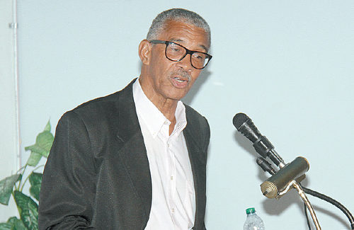 Photo: Sunday Express columnist, veteran journalist and former editor-in-chief Lennox Grant. (Copyright Trinidad Guardian)