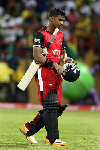 Photo: Trinidad and Tobago wicketkeeper/batsman Nicholas Pooran, is currently suspended from playing for the West Indies, making him perhaps one of the people the WI have not handled well in recent times. (Copyright Barbados Today)