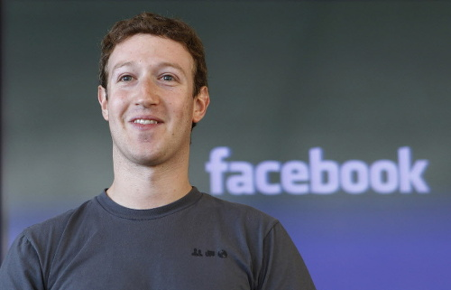 Photo: Facebook owner Mark Zuckerberg.