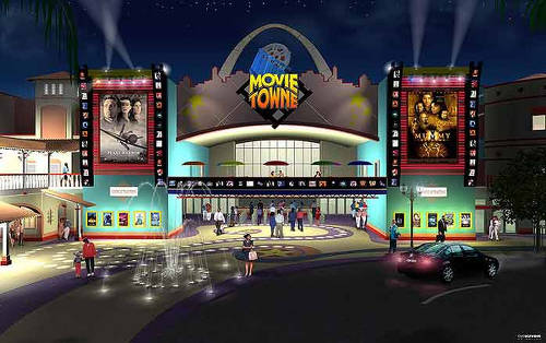 Photo: An image of MovieTowne in Port of Spain.