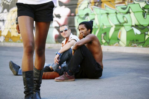 Photo: A woman is treated to catcalls in New York. (Copyright NY Daily News)