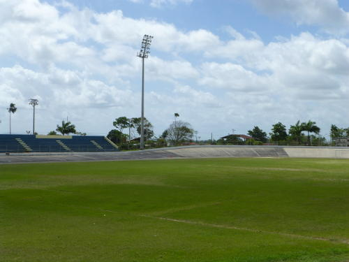 Photo: The Arima Velodrome or Municipal Stadium. (Copyright NALIS)