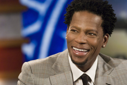 Photo: US comedian DL Hughley has openly talked about the challenges of raising a child with Asperger's Syndrome.