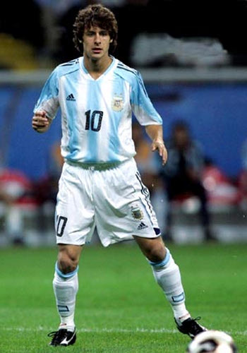 Photo: Former Argentina playmaker Pablo Aimar.