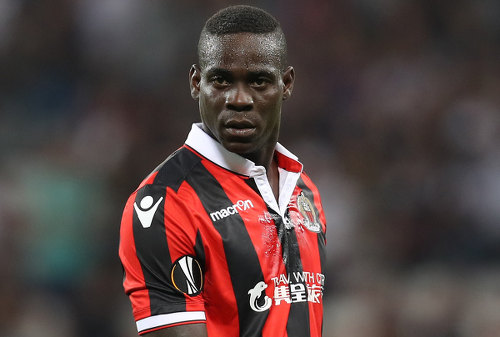 Photo: Nice striker Mario Balotelli has faced racist abuse in Italy and France. (Copyright Metro)