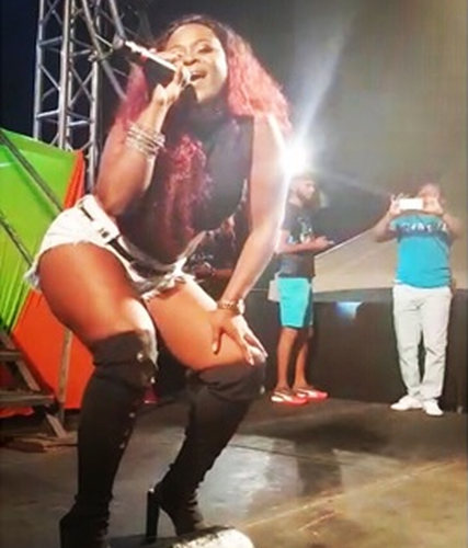 "Photo: Upcoming soca artiste Savina ""Savi Sav"" Hector."
