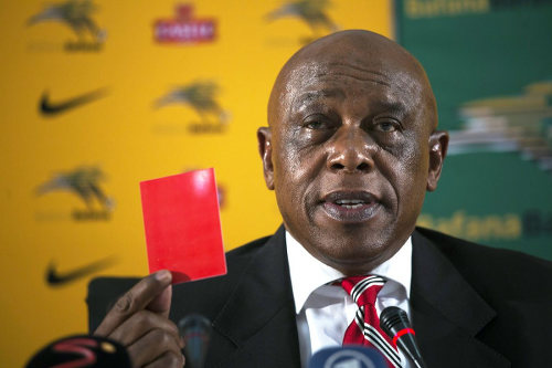 Photo: Former FIFA presidential candidate and racism task force member Tokyo Sexwale. Sexwale was a close friend of Nelson Mandela and spent 13 years in jail for conspiring against the racist South African government. (Copyright Le Nouvel Observateur)