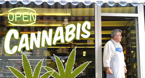 Photo: A legal marijuana store in Colorado, United States.