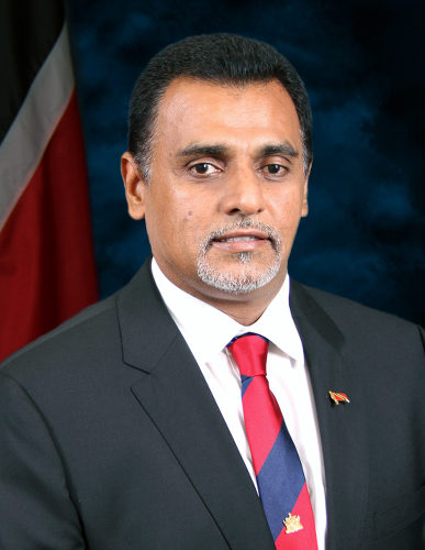 Photo: Minister of Works and Transport Rohan Sinanan. (Copyright News.Gov.TT)