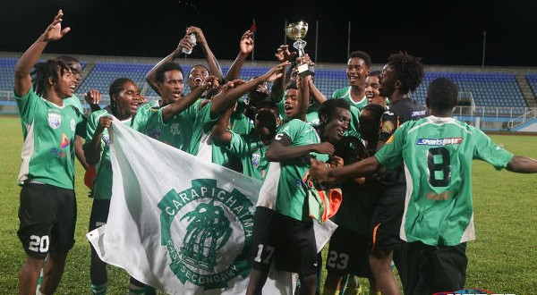 "Intercol 2017: Bourne to the rescue, as 10-man ""Caps"" edge Chaguanas North to cop zonal title"