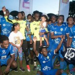 """Pres Lions"" roar in North as Premier title goes South again; Presentation conquer SSFL"