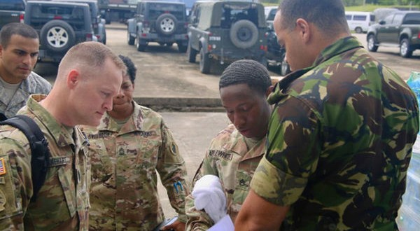 How would T&T respond to a disaster? Col Weekes and US official, Barrera, discuss value of Fused Response test