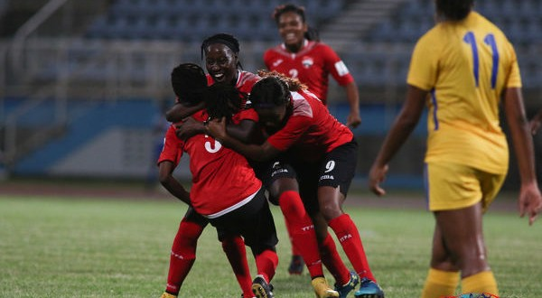 "Shade beaver-trick and ""Baby"" thunderbolt do USVI in as T&T Women romp to 10-0 win"