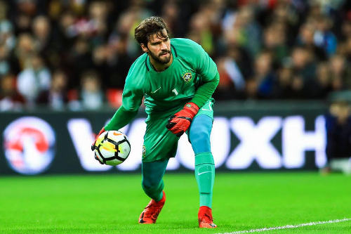 Roma goalkeeper Allison is one of the most sought after custodians in Europe