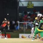 CPL 18: Super display from Russell stuns Oval; champs TKR edged in record breaking affair