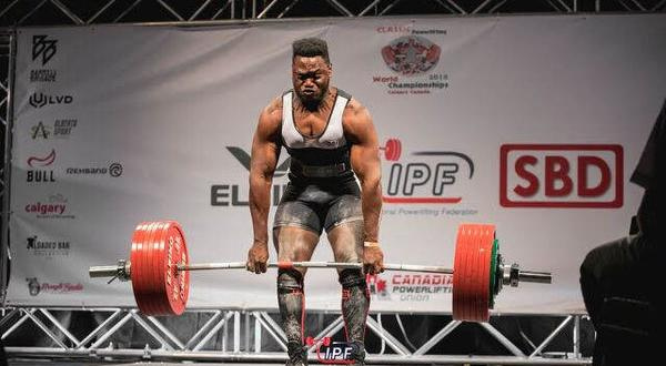 Here comes the boom! World Junior powerlifting champ, Hunte, targets global domination