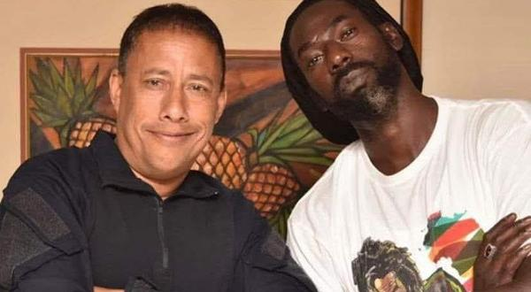 Griffith: Buju invited me on stage; and I went out of patriotism and to help inter-country relations