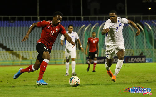 Soca Warriors Levi Garcia Trinidad and Tobago football