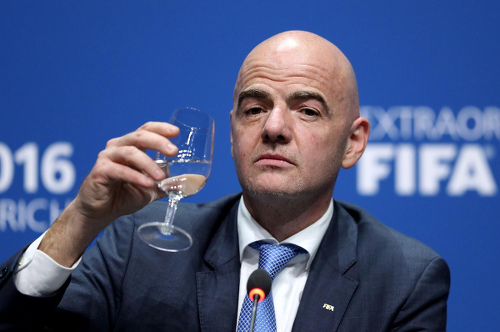 President Infantino claims FIFA purged of 'toxic' corruption