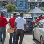 'Total disrespect!' Coaches locked out of stadium, while trying to deliver letters to Hadad