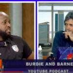 'Our unique way of telling stories…' Burdie and Barney visit TV6 Morning Show