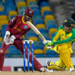 Aussie bats wade into WI bowlers, romp to 6-wkt win to clinch series on 'untrustworthy' pitch