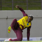 Lewis slams 23-ball 50 to seal deal for Pooran's West Indies against Australia