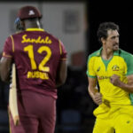 Marsh sets up Aussies with bat, Starc denies West Indies and Russell with ball