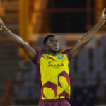 Pooran's West Indies fight back to snatch 1-0 lead over Finch's battling Aussies